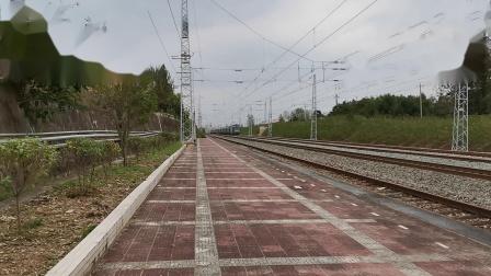 20211002 135727 阳安铁路客车K768次列车通过王家坎站