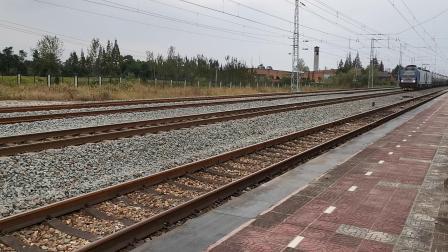 20211002 143540 阳安铁路HXD2货列通过王家坎站