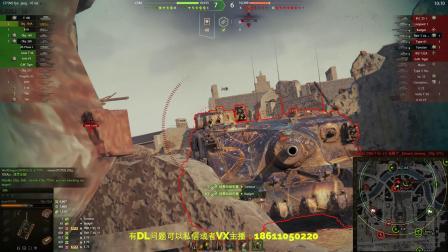 坦克世界 268工程临危不惧10杀这回逆天了与大乌龟705A