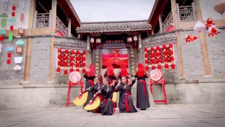 国风服装类舞蹈《骁》,朋友燕子等美媚翻跳,指导教学老师:周子琳