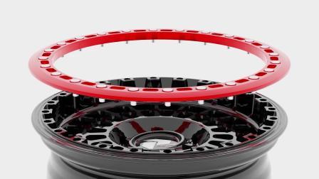 PDW轮毂-国际PROMOVIDEO-FF2114-DAKAR-FXB