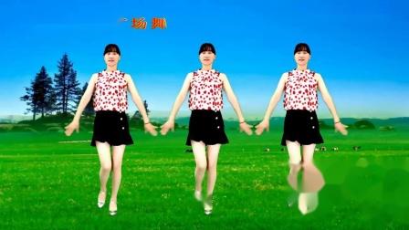 网络热歌广场舞《想你想的睡不着》很火很流行,32步动感优美~