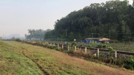 K366次 DF4B2616 通过广茂线K42KM莲塘村旁