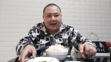 晚饭品测鸡蛋煎豆腐怎么做好吃