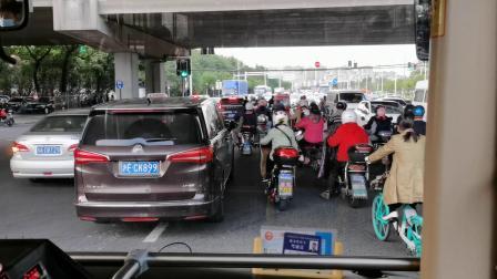 【巴士五公司】宝山16路公交车(L9C-0013)(泰和路蕰川路-祁北路抚远路)全程