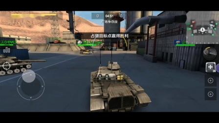 《战地坦克》手游试玩