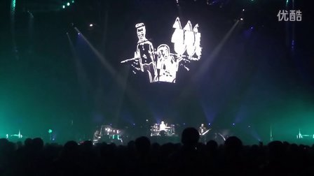 Muse live Exogenesis Redemption in Tokyo 2013.01.13