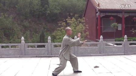 正宗杨氏太极拳85式片段(佛光禅寺版)  永年李占英