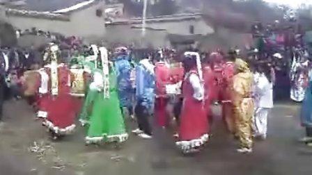 甘肃礼县秧歌