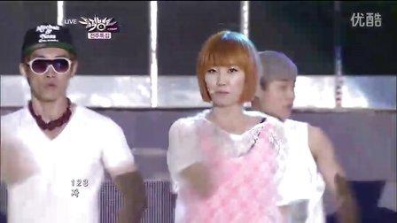 [120608] Wonder Girl - Girlfriend Like this  2首