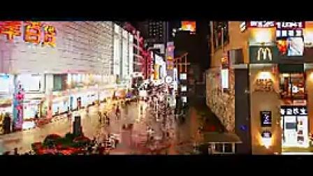 B006成都城市街拍人流车流夜景