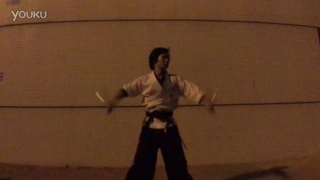 【金教练双节棍教学培训】金教练户外训练视频4