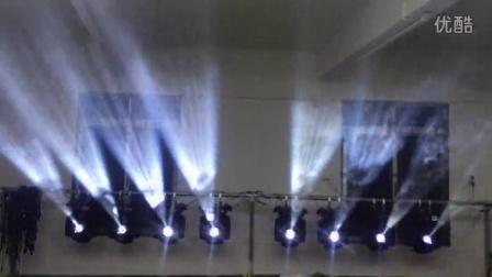 酒吧 慢摇吧 婚庆230W电脑摇头光束灯效果,16棱镜光速灯