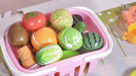 玩具车超级飞侠水果切切看 玩具妈妈过家家之切水果【4】