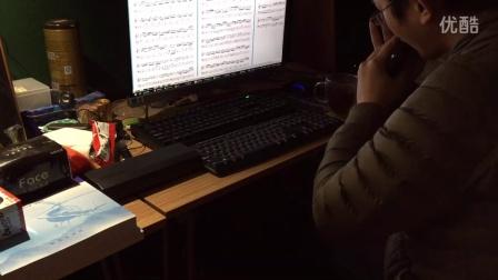 半音阶口琴  BWV1020