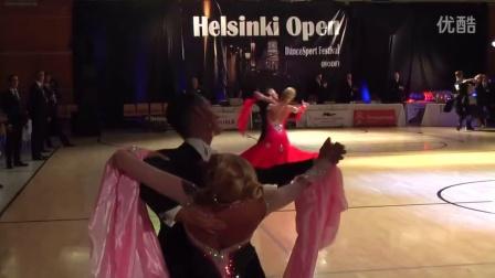 2015 WDSF World STD Helsinki Final 芬兰世界公开赛摩登舞决赛
