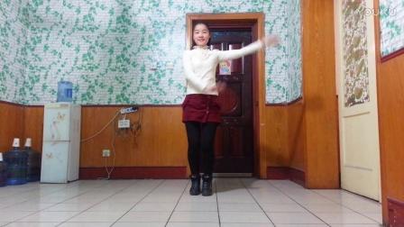 仙子广场舞《错过的情人》简单步子舞 仙子