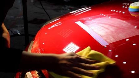 汽车美容福音,让抛光不在有难度。新款粗蜡测试PE130,轻松去除1500目砂纸划痕.mp4