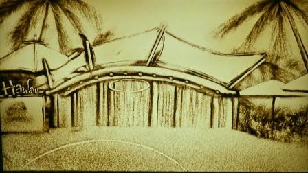 沙画:兰州新区西部恐龙园整体介绍