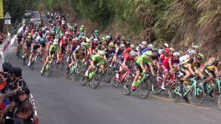 【拍客】环广西公路自行车世巡赛穿越永福