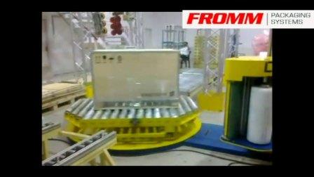 最好用的胶膜栈板裹包机 专业制造厂【FROMM 孚兰】
