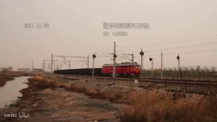 铁路道口上