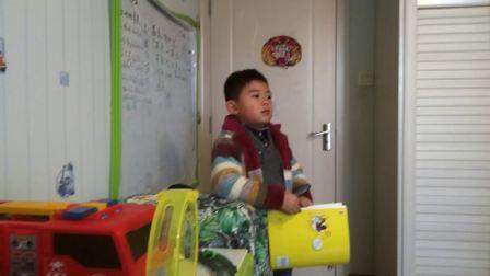 【6岁半】1-7哈哈当英语小老师,给爷爷奶奶补习英文知识video_124949