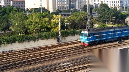【火车视频】北京东便门角楼拍车