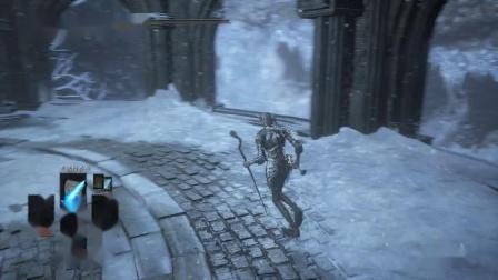 《黑暗之魂三》法师路线全剧情收集娱乐流程解说DLC1绘画者世界P3
