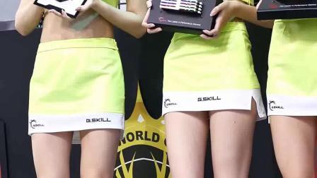 韩国车模,美女,不去当腿模的话太可惜了!