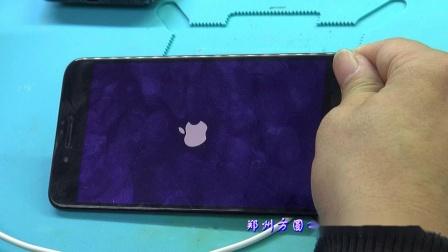 郑州方圆手机维修培训学校 手机维修系列教学视频 苹果7p车充不开机维修实例