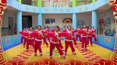 灯笼舞《吉祥中国年》——青西新区辛安幼儿园2019教师贺岁舞蹈(二)-程品影视