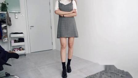 【白羊座的蘑菇】穿搭灵感 | 无聊的搭配,加双袜子会不一样吗
