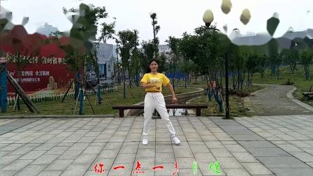 梅子广场舞 最流行的广场舞简单24步《爱如星火》编舞芸児  演示梅子