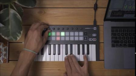 Novation // Launchkey Mini Mk3 固定和弦模式