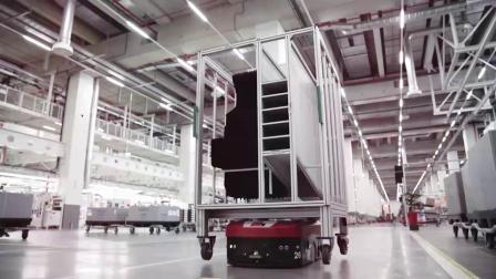 奥迪德国工厂高效的内部物流体系