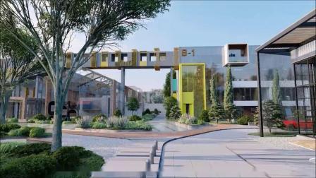 北京时尚创意梦工场(菁英梦谷常营)视频_非静止建筑