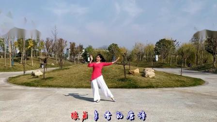 湖南常德梅子广场舞《赴一场长安约会》
