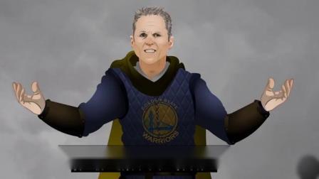 NBA版权游第二季03集:科尔诠释何为守夜人万岁