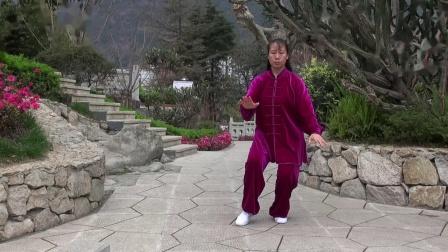 八式太极拳.由四川省石棉县老年大学太极拳班教师徐泽蓉展示。mp4