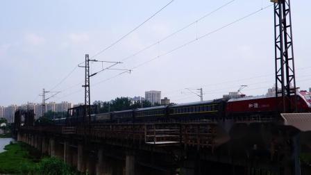 【京沪铁路蚌埠段拍车】2020.6.30. HXD1D 0610. Z303次(伊宁-上海)