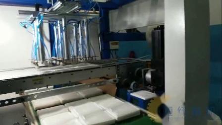 全自动正负压三工位塑料吸塑机长方形饭盒盖子