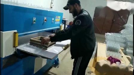 高速机鸡蛋托裁切40吨精密四柱液压裁断机
