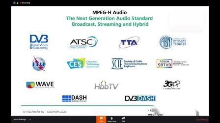 Fraunhofer IIS MPEG-H技术概览与应用案例分享