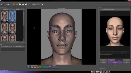 Dynamixyz Facial mocap to Daz