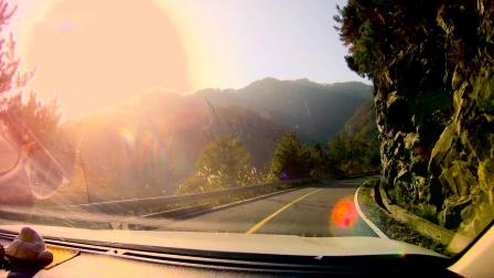 《秋意正浓大别山》金寨中国红岭马丁公路自驾前景展示(第二篇)