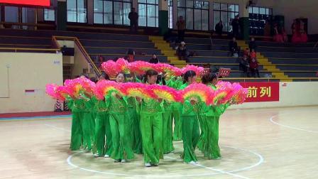 《中国行》兰溪镇广场舞队表演