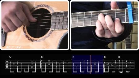 玩易吉他指弹 心恋 每日一句 第18课