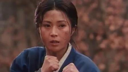 功夫厉害的日本女反派武士被杀