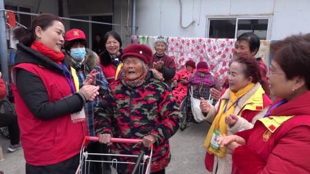 宜兴市周铁镇《爱心义工队》春节走进下邾社区敬老院